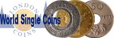 Realised Auction Prices for World Coins Single Coins and Small Lots