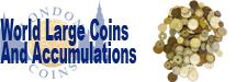 Realised Auction Prices for World Coins Large Coins and Accumulations