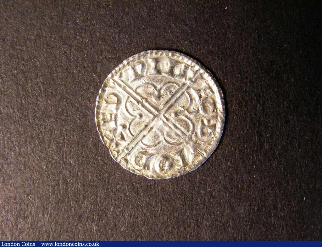 Penny Cnut Quatrefoil type S.1157 Long Cross North 796 NEF Rare : Hammered Coins : Auction 122 : Lot 1260