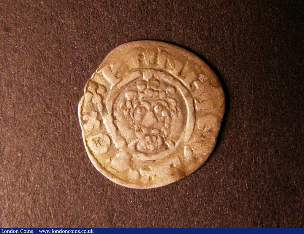Penny Richard I class 3. Moneyer Willelm on London. S.1347. About very fine. : Hammered Coins : Auction 122 : Lot 1289