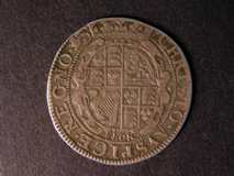 London Coins : A122 : Lot 1300 : Shilling Charles I S.2872 York 1642-1644 mintmark Lion well-struck GF/NVF with attractive tone on th...