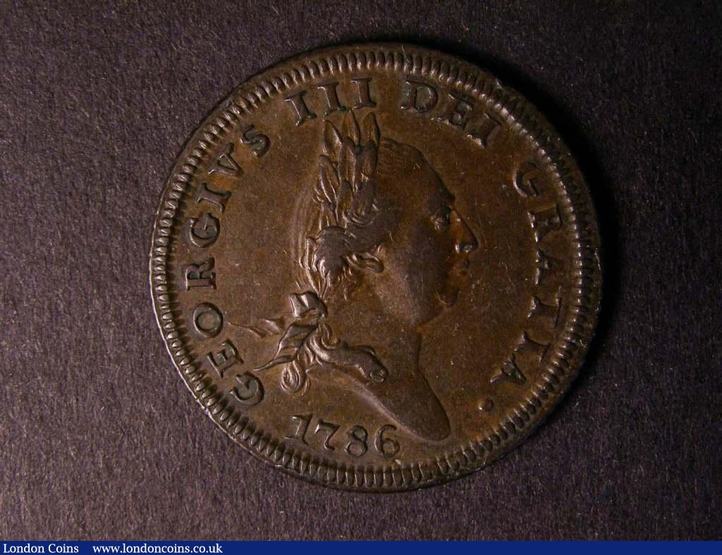 Isle of Man Penny 1786 S.7413 VF/NVF : World Coins : Auction 122 : Lot 1386