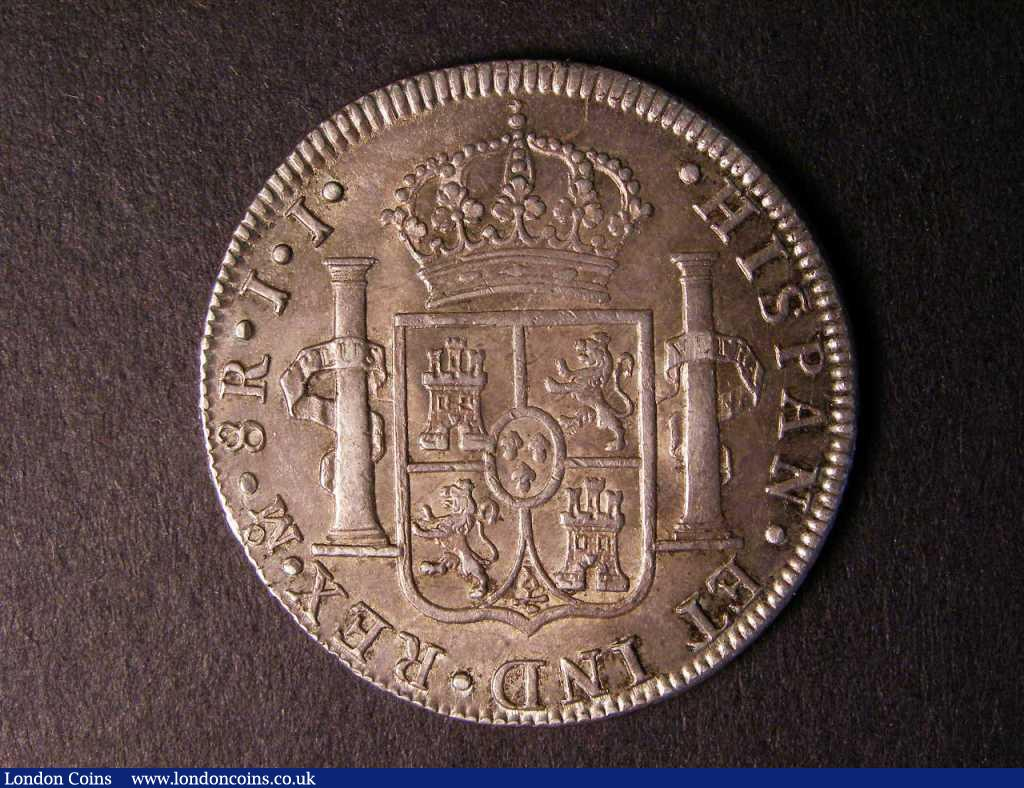 Mexico 8 Reales 1819 Mexico City Mint JJ KM#111 GVF/NEF : World Coins : Auction 122 : Lot 1391