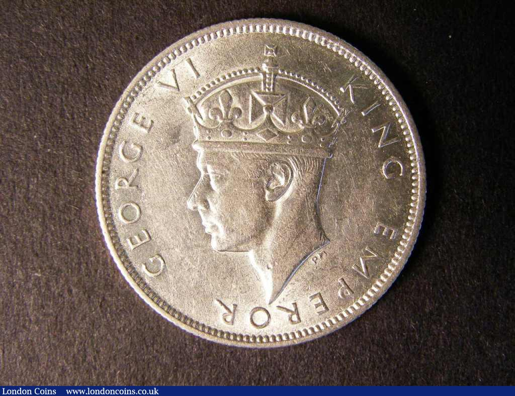 Southern Rhodesia Two Shillings 1940 scarce EF : World Coins : Auction 122 : Lot 1428