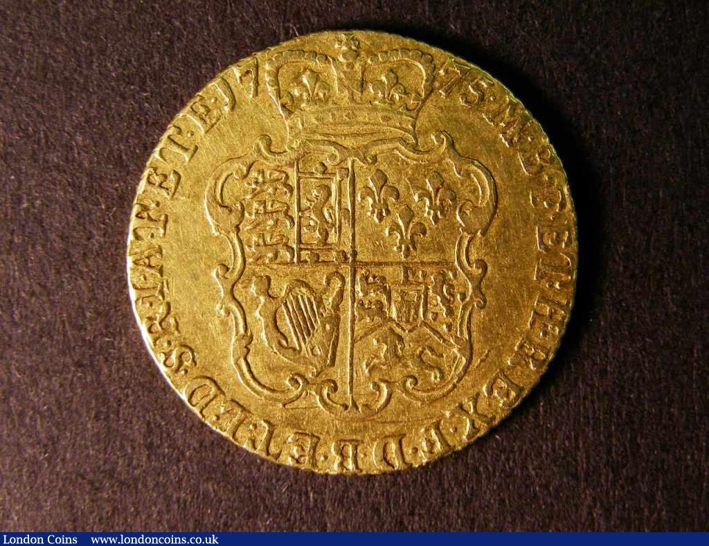Guinea 1775 S.3728 VF/NVF : English Coins : Auction 122 : Lot 1579