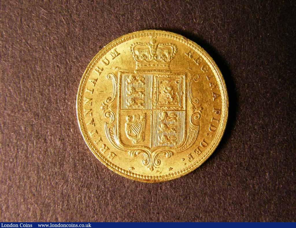 Half Sovereign 1883 Marsh 457 VF : English Coins : Auction 122 : Lot 1607
