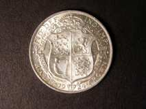 London Coins : A122 : Lot 1644 : Halfcrown 1924 ESC 771 Lustrous UNC with contact marks and black tone marks on the obverse