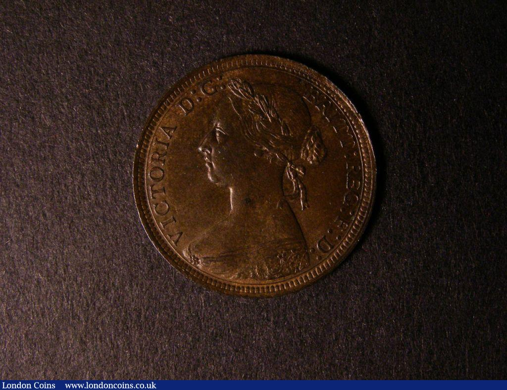 Halfpenny 1894 Freeman 369 dies 17+S EF : English Coins : Auction 122 : Lot 1697