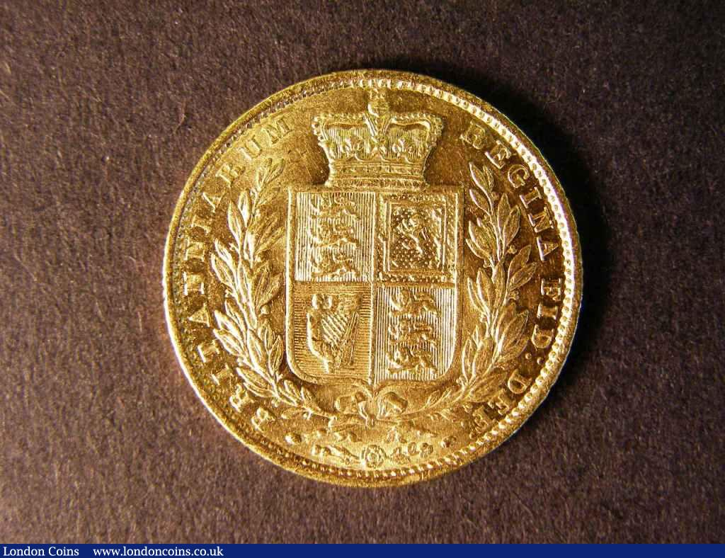 Sovereign 1851 Marsh 34 GVF/NEF : English Coins : Auction 122 : Lot 1844