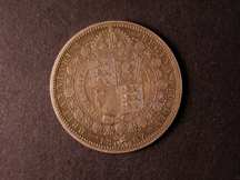 London Coins : A124 : Lot 1184 : Halfcrown 1887 Obv 1 Rev A -- B.S.C. 640P -- a very rare pattern proof, unlisted previously in B...