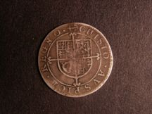 London Coins : A124 : Lot 1928 : Sixpence Charles I Nicholas Briot second milled issue mm anchor S2860 with rev; reading Chisto &...