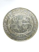 London Coins : A124 : Lot 1972 : Poland Thaler 1754 EDC Davenport 1617 About VF with tooling in the fields