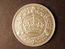 London Coins : A124 : Lot 199 : Crown 1929 ESC 369 gVF