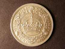 London Coins : A124 : Lot 201 : Crown 1930 ESC 370 EF