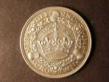London Coins : A124 : Lot 205 : Crown 1930 ESC 370 gVF