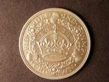 London Coins : A124 : Lot 211 : Crown 1931 ESC 371 EF