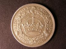 London Coins : A124 : Lot 219 : Crown 1932 possibly a Proof striking the obverse fields certainly proof-like UNC or near so with a f...