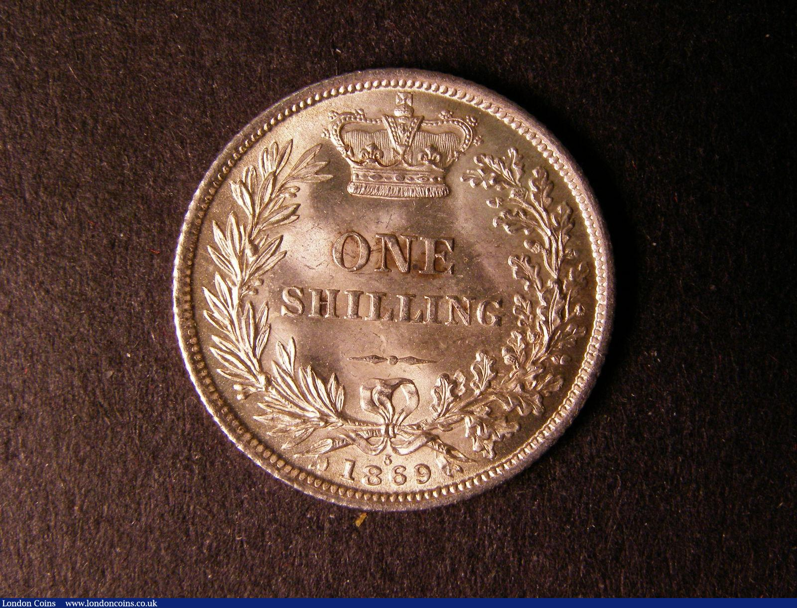 Shilling 1869 ESC 1319 Die Number 5 GEF scarce : English Coins : Auction 124 : Lot 881