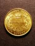 London Coins : A125 : Lot 778 : Australia Sovereign 1866 Sydney Mint Marsh 371 VF/NEF