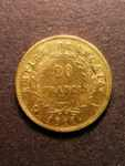 London Coins : A125 : Lot 786 : France 20 Francs Gold 1811 A Le Franc 516/16