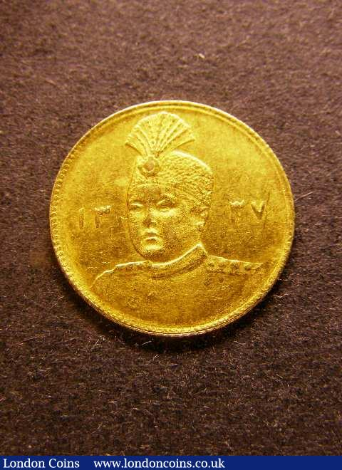 Iran Gold Toman AH1337 (1918) KM#1074 VF/NVF : World Coins : Auction 125 : Lot 802