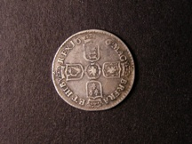 London Coins : A126 : Lot 1442 : Sixpence 1696 N First Bust Later Harp Small Crowns ESC 1549 Fine, Rated R3 by ESC