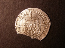 London Coins : A126 : Lot 560 : Scotland Groat James V Second Coinage 1526-1539 S.5378 with trefoil of pellets in obverse field,...