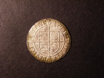 London Coins : A126 : Lot 801 : Groat Henry VIII Second Coinage Laker Bust D Larger squarer face with Roman nose, fluffy hair...