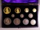 London Coins : A127 : Lot 1320 : Proof Set 1887 Long Set £5 to Silver Threepence (11 coins) nFDC the gold with some hairlines a...