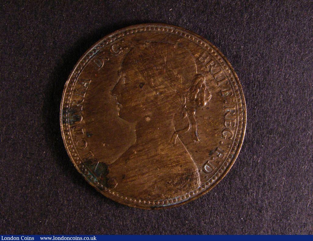 Penny 1860 Beaded Border/Toothed Border mule Freeman 8 dies