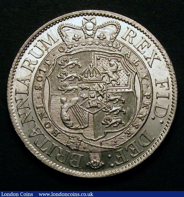 Halfcrown 1820 George III ESC 625 UNC : English Coins : Auction 128 : Lot 1360