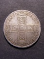London Coins : A129 : Lot 1411 : Halfcrown 1703 VIGO ESC 569 Good Fine