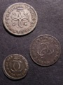 London Coins : A129 : Lot 1567 : Maundy a 3-part set 1679 comprising Fourpence, Threepence and Twopence F-NVF