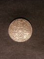 London Coins : A129 : Lot 1843 : Sixpence 1723 SSC Smaller lettering on Obverse ESC 1600 VF/GVF
