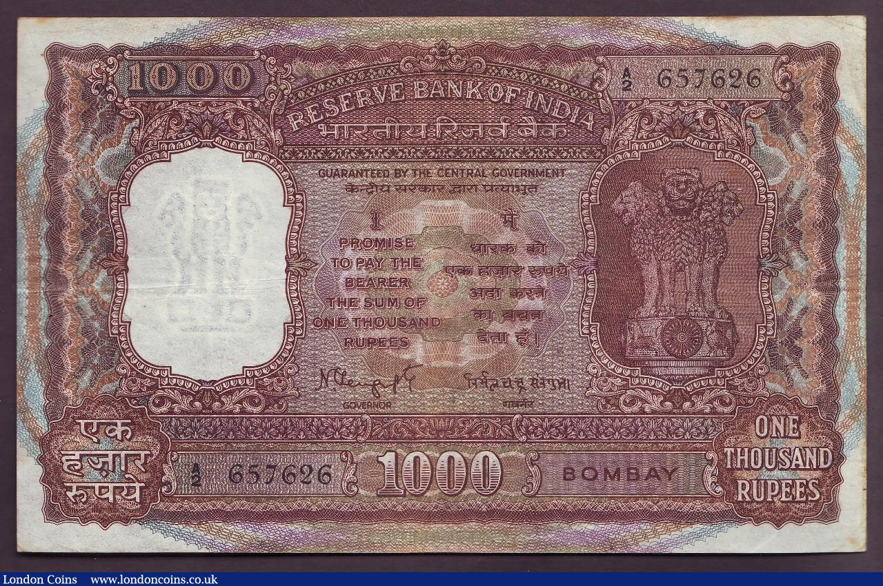 India 500 Rupees p-92b 1997 Without letter Sign Jalan UNC Banknote