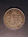 London Coins : A130 : Lot 1344 : Halfcrown 1845 ESC 679 NVF the reverse slightly better