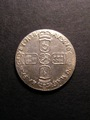 London Coins : A130 : Lot 1776 : Sixpence 1696 First Bust ESC 1533 Lustrous and about Mint State with a few light haymarks on the obv...