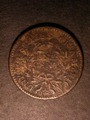 London Coins : A130 : Lot 580 : USA Cent 1796 Draped Bust Small Fraction, Reverse of 1797 Breen 1699 GF/Fine with corroded surfa...