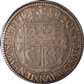 London Coins : A131 : Lot 574 : Scotland Thirty Shillings Charles I S.5553 flower on obverse, mintmark B and thistle on reverse ...
