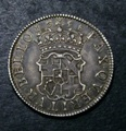London Coins : A132 : Lot 1174 : Shilling 1658 Cromwell ESC 1005 NEF toned
