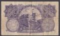 London Coins : A132 : Lot 438 : Palestine Currency Board 500 mils dated 1929 serial B192280, Pick6b, centre pinhole, Fin...