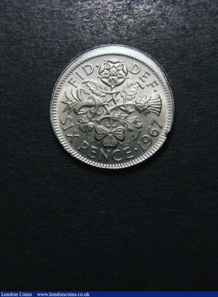 Sixpence 1967 : Auction Prices