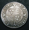 London Coins : A132 : Lot 610 : Crown Edward VI Fine Silver Issue S.2478 North 1933, Lingford dies B-21 similar to Lingford Reve...