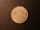 London Coins : A133 : Lot 852 : Sixpence 1907 ESC 1791 Toned UNC with minor cabinet friction
