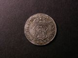 London Coins : A134 : Lot 1706 : Sixpence Cromwell 1658 a copy of good style GVF with some flan porosity