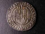 London Coins : A134 : Lot 1802 : Sixpence Elizabeth I 1572 Intermediate Bust 4B S.2562 mintmark Ermine VF