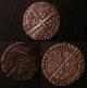 London Coins : A137 : Lot 1272 : Hammered (3) Penny Richard II Type IIIa (Scallop after TAS) S.1695 York Mint GF and scarce, Penn...