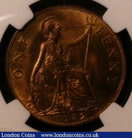Penny 1932 NGC MS64 RB : Certified Coins : Auction 137 : Lot 402