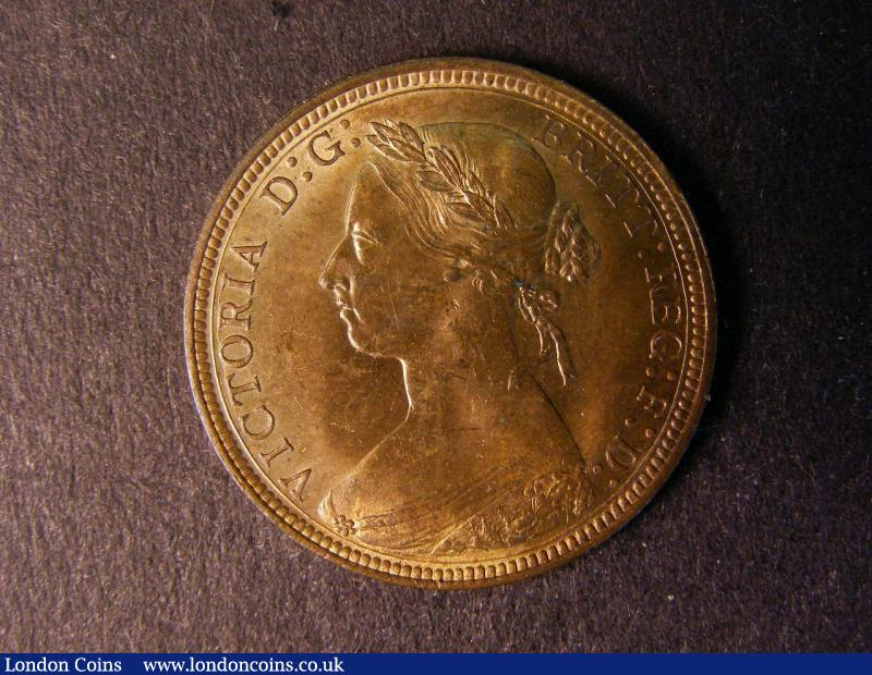 Halfpenny 1893 Freeman 368 CGS UNC 80 : Certified Coins : Auction 137 : Lot 449