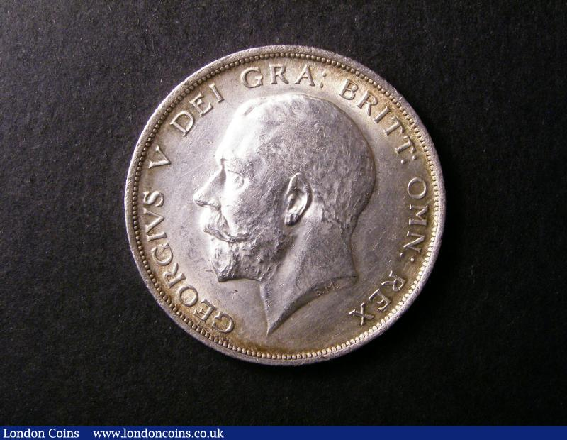 Halfcrown 1913 ESC 760 A/UNC with some minor hairlines on the obverse : English Coins : Auction 138 : Lot 2350